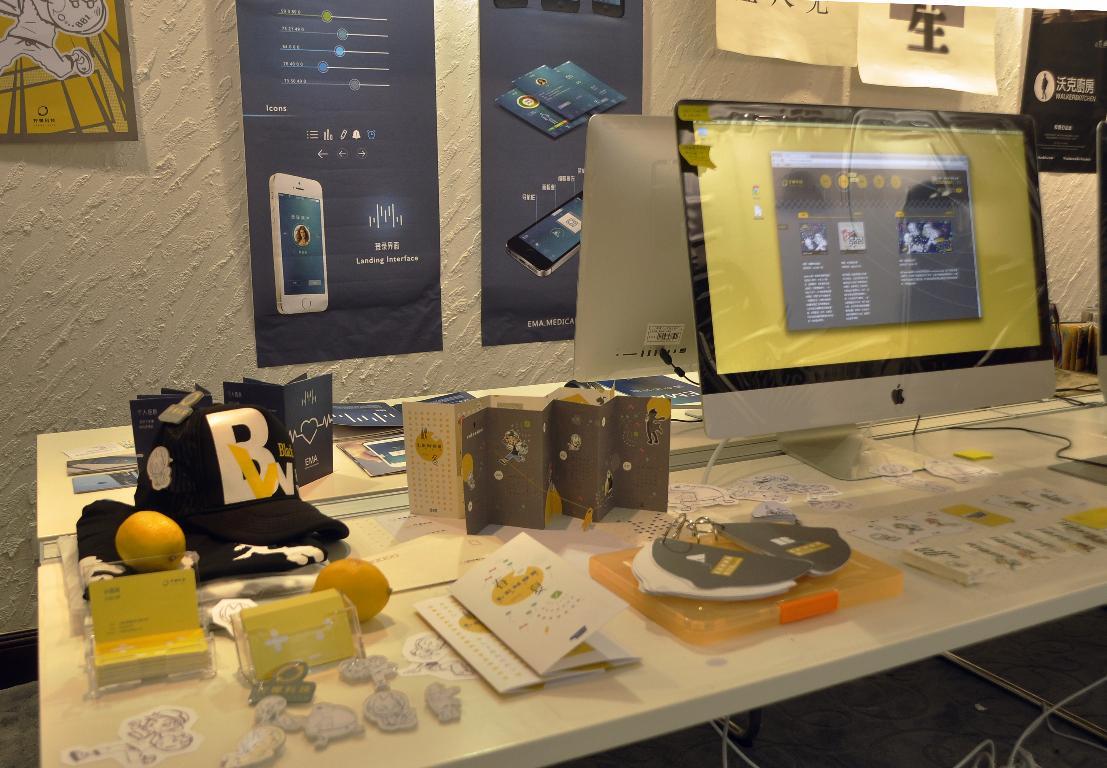 """6月2日,""""上海理工大学出版印刷与艺术设计学院2015届毕业设计展"""